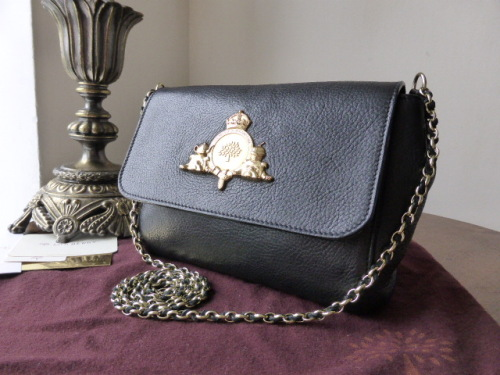 Mulberry Margaret (Small) in Soft Matte Black Leather