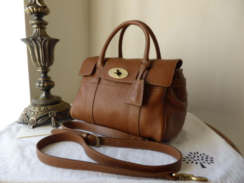 Mulberry Small Bayswater Satchel in Oak Natural Leather - SOLD