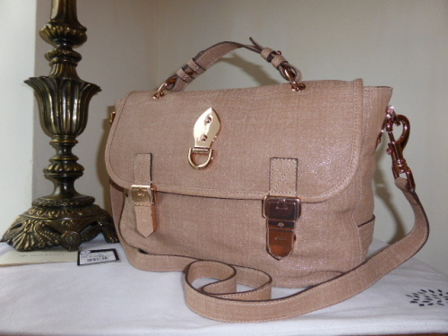 Mulberry Tillie in Oak Soft Matte Leather - New