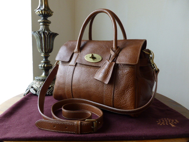 Mulberry Small Bayswater Satchel in Oak Natural Leather (ref 2)