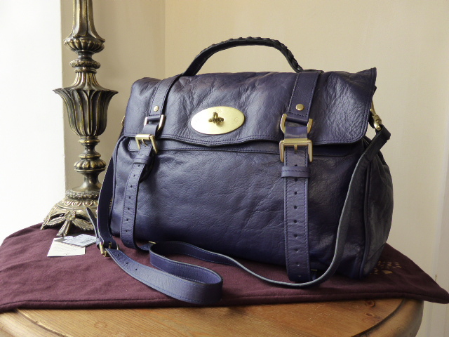 Mulberry Oversized Alexa in Conker Buffalo - SOLD