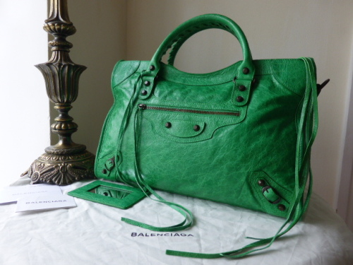 Balenciaga Part Time in Papyrus Lambskin with Giant 21 Rose Gold Hardware -