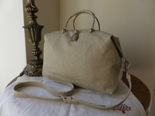 Mulberry Bayswater in Snowball Grainy Patent - SOLD