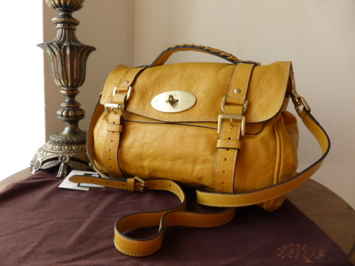 Mulberry Regular Alexa in Butter Buffalo Leather - SOLD