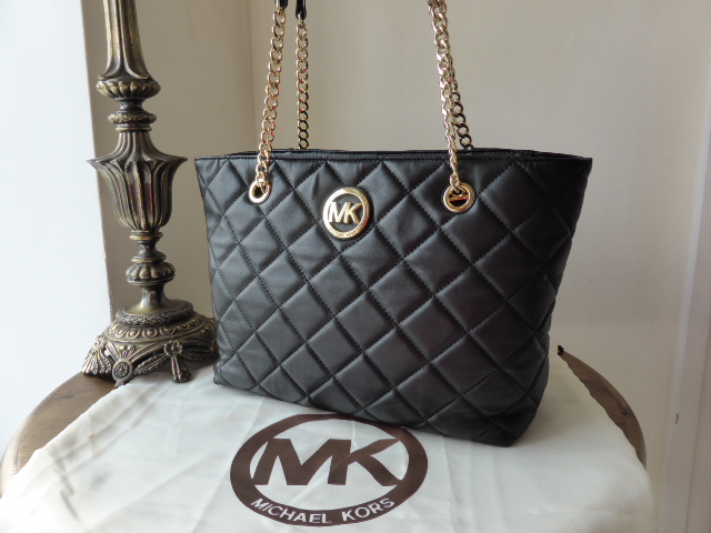 Michael Kors Large Skorpios Tote in Luggage (Oak)Pebbled Leather - New