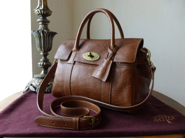 Mulberry Small Bayswater Satchel Oak NVT 2