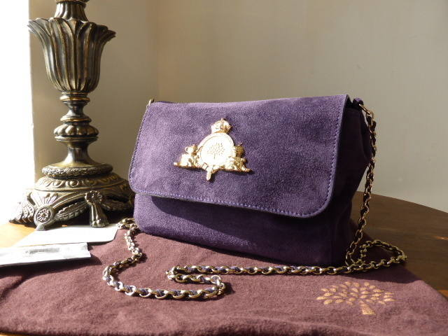 Mulberry Margaret Grape Suede