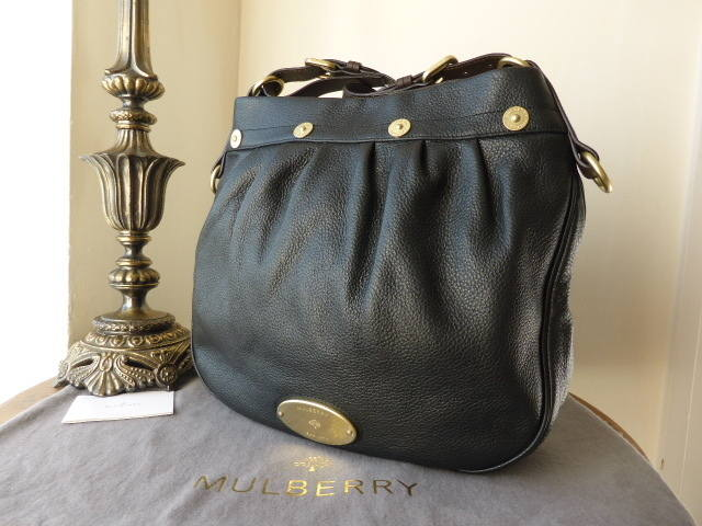 Mulberry Mitzy Messenger Black Pebbled