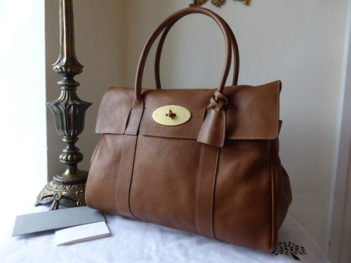 Mulberry Union Jack Bayswater in Oak Natural Leather - New