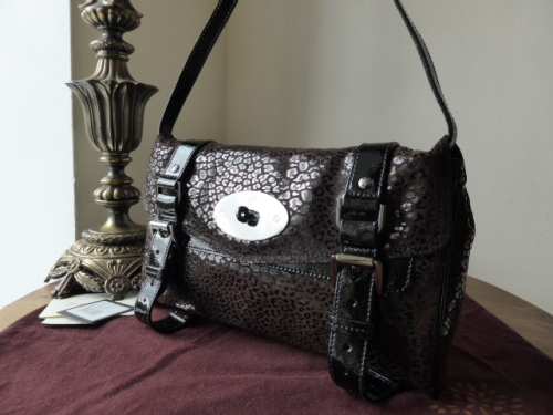 227b8d12f0 greece mulberry alexa leather clutch bag 45c0f 24f0b  where to buy mulberry  alexa shoulder clutch in black mini patent leopard sold 2fc2c ac4ea