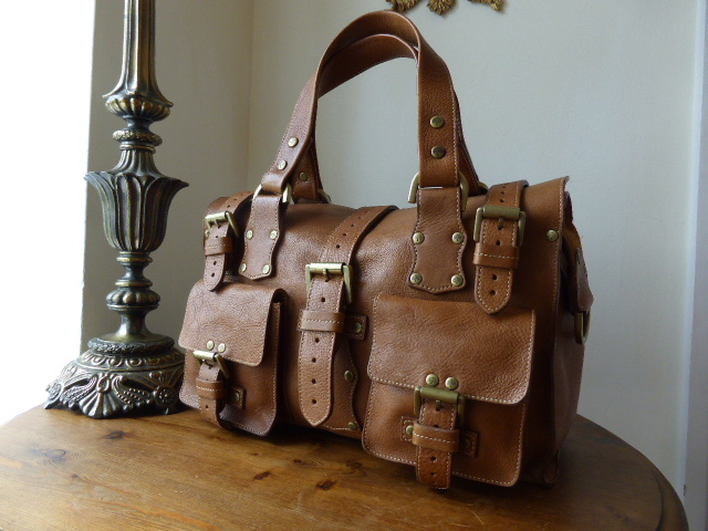 Mulberry Roxanne in Oak Darwin Leather - SOLD