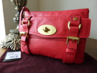 Mulberry Alexa All-in-One Clutch Zip Pouch in Watermelon Soft Buffalo  Leather - cd05297477f1c