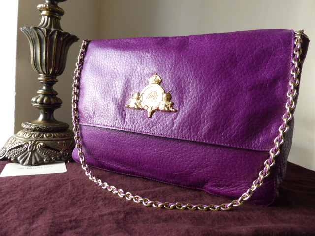 Mulberry Margaret (Medium) in Plum