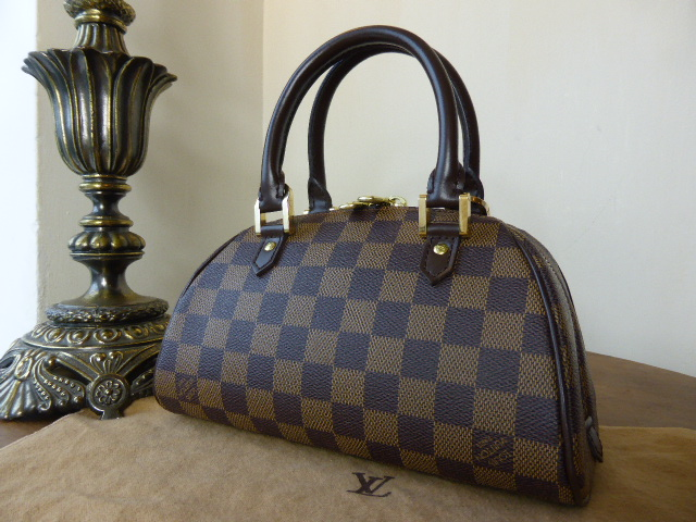 Louis Vuitton Ribera PM in Damier Ebene