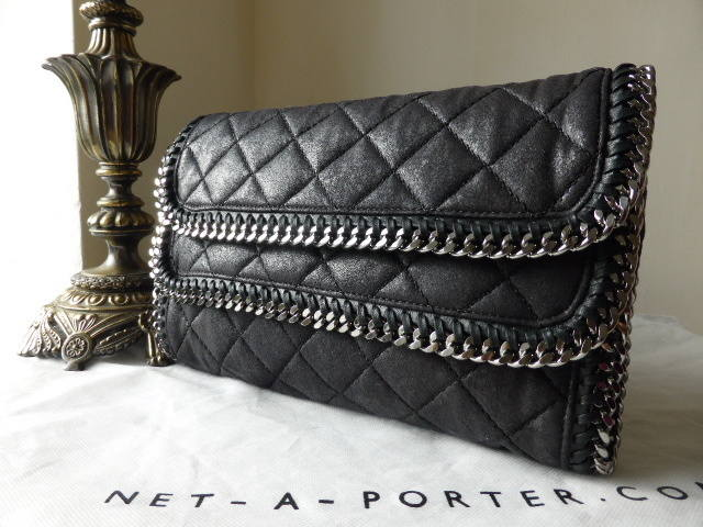 Stella McCartney Falabella Foldover Clutch NEW