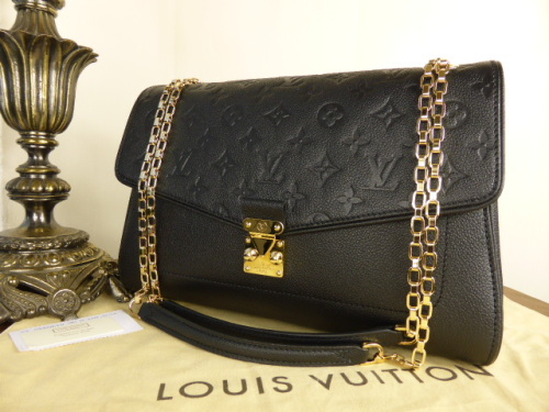 Louis Vuitton St Germain MM in Noir Empreinte - New*