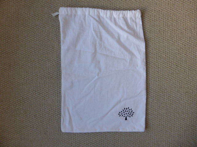 Mulberry White Dustbag (31.5cm x 45cm) ref VK