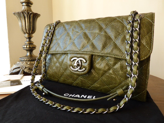 Chanel Crave Tote in Anthracite Glazed Calfskin - SOLD