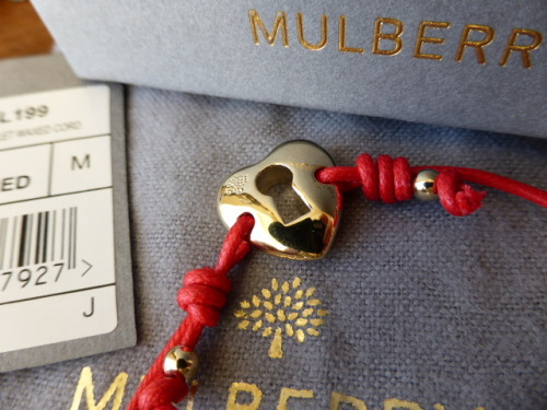 Mulberry Bunny Friendship Bracelet - SOLD