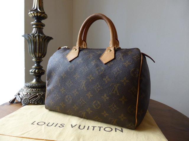 Louis Vuitton Speedy 25 Monogram - SOLD