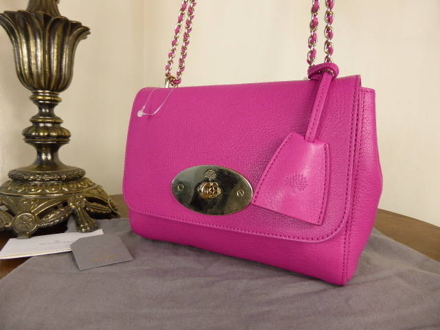 Mulberry Lily Pink Glossy Goat NEW
