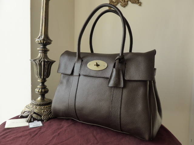 Mulberry Bayswater Chocolate NVT NEW ref JB