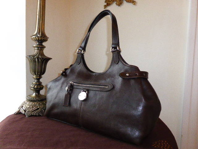 Mulberry Somerset Tote Chocolate NVT ref 4