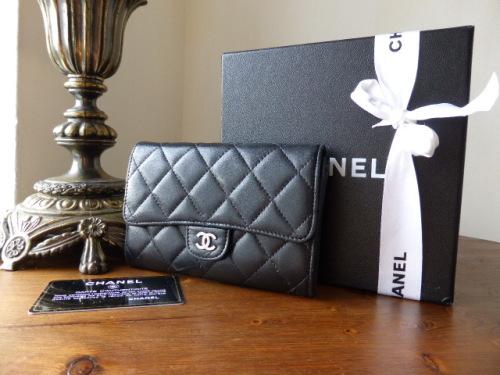 Chanel Black Flap Wallet