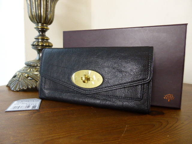 Mulberry Alexa Postmans Lock Wallet Black