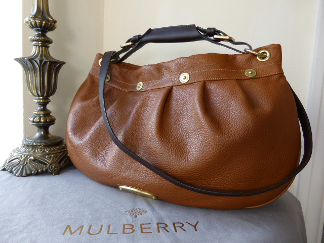 Mulberry East West Mitzy Hobo in Oak Pebbled Leather