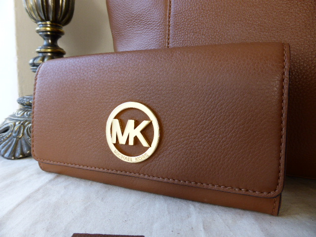 Michael Kors Continental Purse Luggage