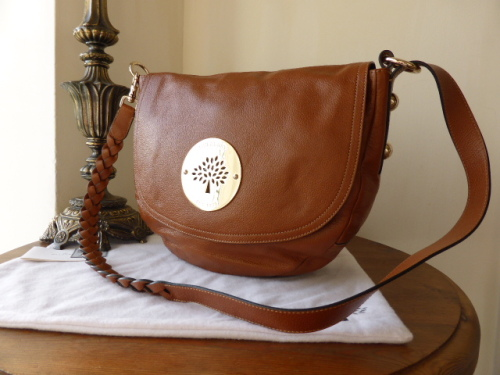 Mulberry Daria Satchel in Oak Soft Spongy Leather