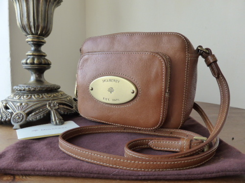 Mulberry Gracie in Oak Natural Leather