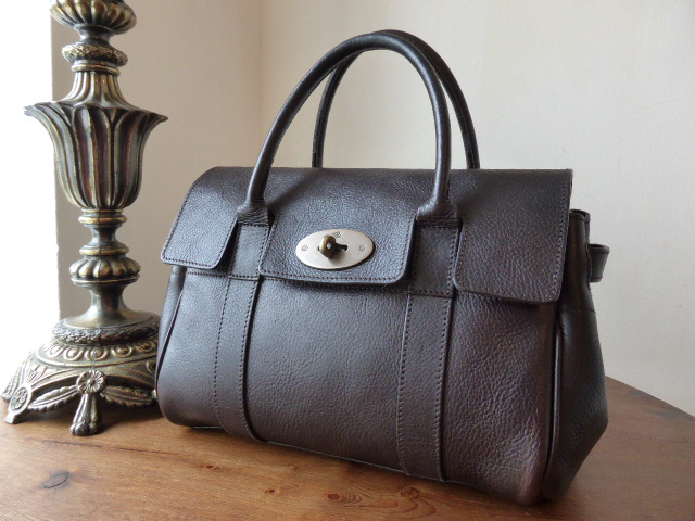 Mulberry Ledbury in Chocolate Darwin Leather