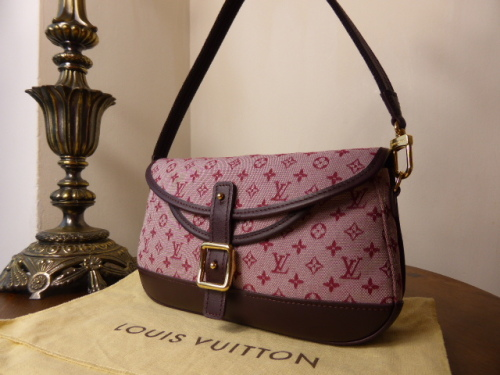 Louis Vuitton Marjorie in Cerise Mini Lin