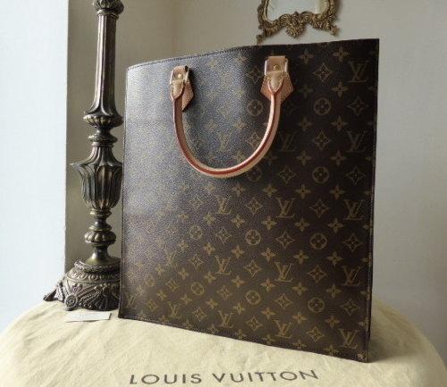 Louis Vuitton Sac Plat GM Monogram - As New