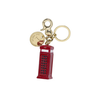 Mulberry Telephone Box Keyring