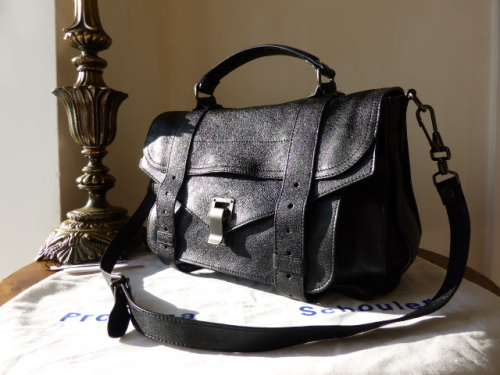 Proenza Schouler PS1 Medium Black Lux