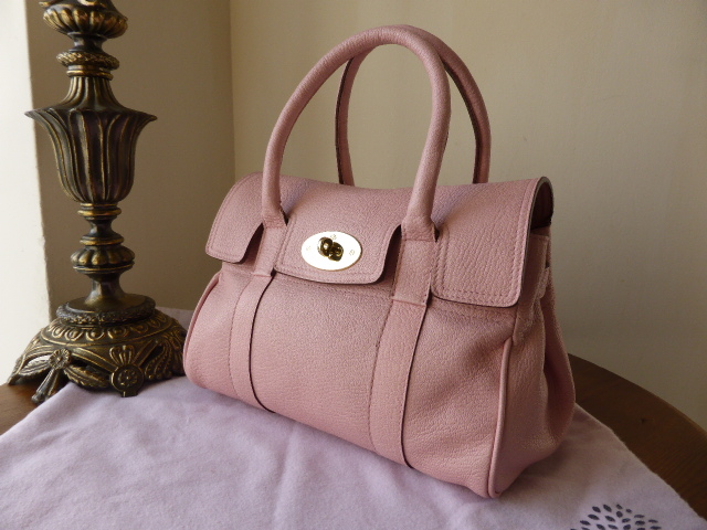 Mulberry Ledbury Special in Baby Pink Goatskin.