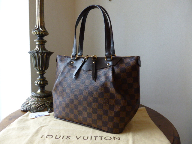Louis Vuitton Westminster PM in Damier Ebene - As New
