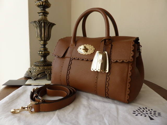 Mulberry Small Bayswater Cookie Soft Matt Oak