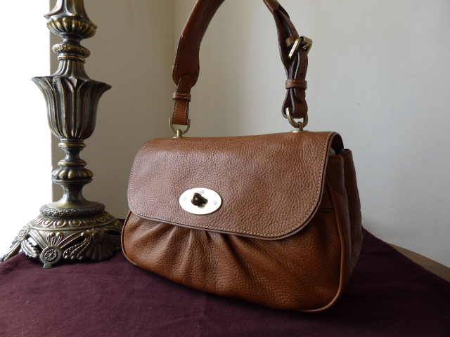 Mulberry Joelle Shoulder Bag in Oak Natural Leather