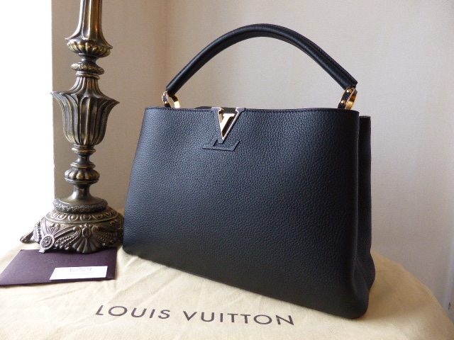 Louis Vuitton Capucines MM Nero