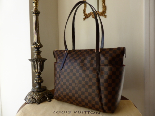 Louis Vuitton Totally MM in Damier Ebene - As New