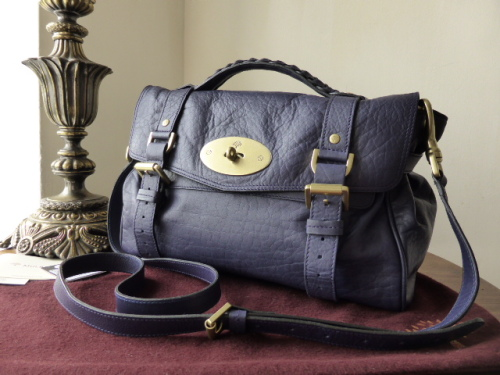 Mulberry Regular Alexa in Ink Soft Buffalo - As New*