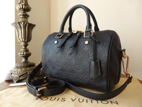 Louis Vuitton Speedy Bandoulière 25 in Monogram Empreinte Inifini