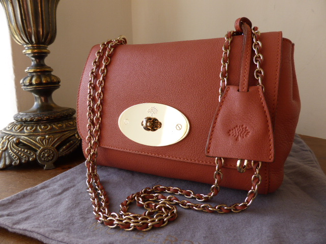 092f5167e418 Mulberry Lily (Regular) in Burnt Peach Soft Matte Leather - SOLD