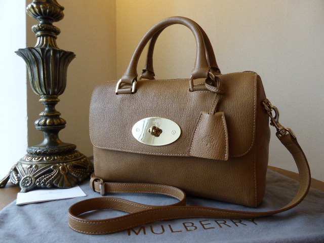 Mulberry Del Rey (Small) in Deer Brown Grainy Print Leather