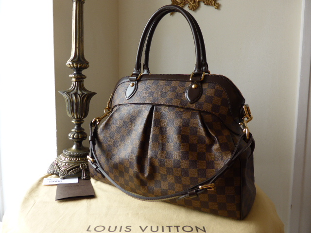 Louis Vuitton Trevi GM in Damier Ebene