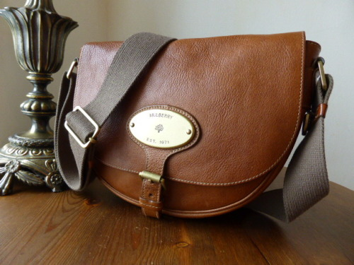 Mulberry Bonnie in Oak Natural Leather